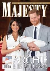 Majesty Magazine Magazine Cover