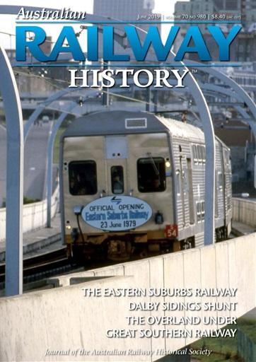 Australian Railway History Magazine