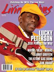 Living Blues Magazine Cover