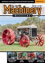 The Old Machinery Magazine Magazine Cover