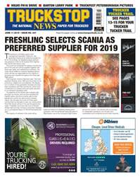 Truckstop News Magazine Cover