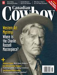 Canadian Cowboy Country Magazine Cover