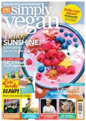 Simply Vegan Magazine Cover