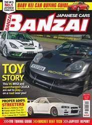 Banzai Magazine Cover