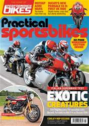 Practical Sportsbikes Magazine Cover