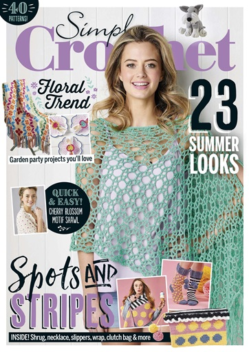Simply Crochet Magazine Issue 85 Subscriptions Pocketmags