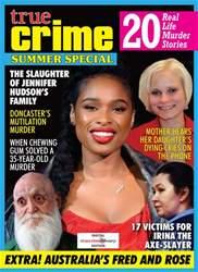 True Crime Magazine Cover