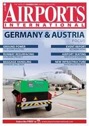 Airports International Magazine Cover