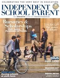 Independent School Parent Magazine Cover