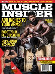 Muscle Insider Magazine Magazine Cover