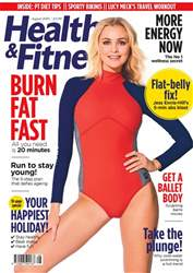 Health & Fitness Magazine Cover