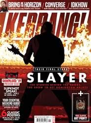 Kerrang Magazine Cover