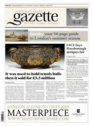 Antiques Trade Gazette Magazine Cover