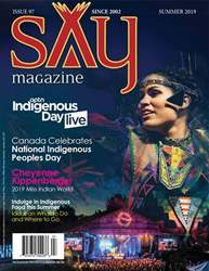 Say Magazine Magazine Cover