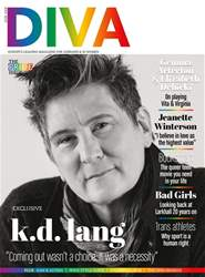 DIVA Magazine Magazine Cover