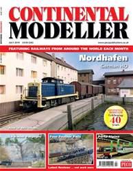 Continental Modeller Magazine Cover
