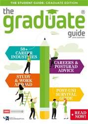 The Graduate Guide Magazine Cover