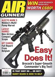 Airgunner Magazine Cover