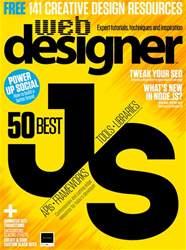 Web Designer Magazine Cover