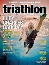 Triathlon Magazine Canada Magazine Cover