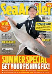 Sea Angler Magazine Cover