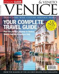 Italia! Guide to Venice Magazine Cover
