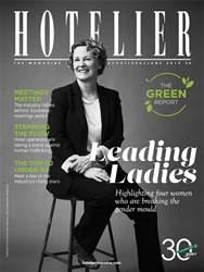 Hotelier Magazine Cover