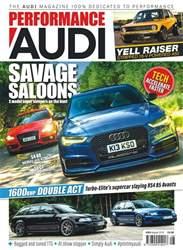 Performance Audi Magazine Magazine Cover