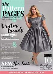 The Pattern Pages Magazine Cover