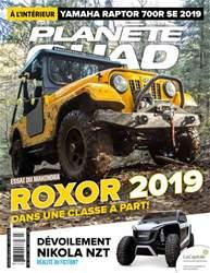 Planète Quad Magazine Cover
