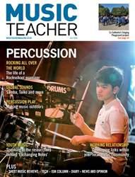 Music Teacher Magazine Cover