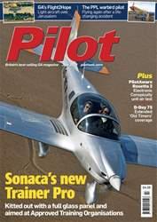 Pilot Magazine Cover