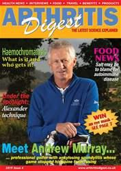 Arthritis Digest Magazine Cover