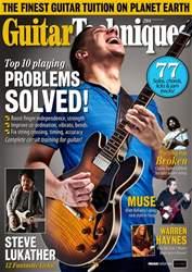 Guitar Techniques Magazine Cover