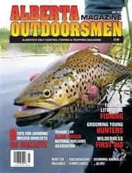 Alberta Outdoorsmen Magazine Cover