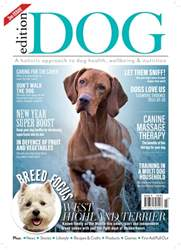 Edition Dog Magazine Cover