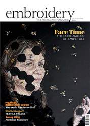 Embroidery Magazine Magazine Cover