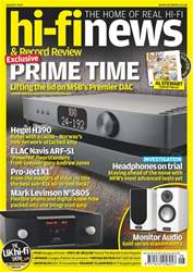 Hi-Fi News Magazine Cover