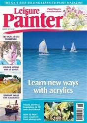 Leisure Painter Magazine Cover