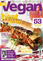 Vegan Living UK Magazine Cover