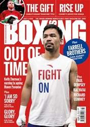 Boxing News Magazine Cover