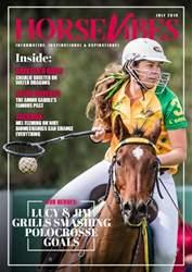 HorseVibes Magazine Cover
