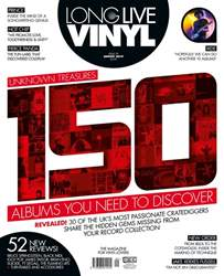 Long Live Vinyl Magazine Cover