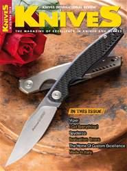 KNIVES INTERNATIONAL Magazine Cover