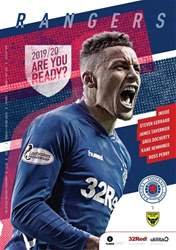 Rangers Football Club Matchday Programme