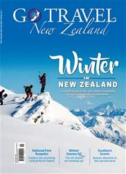 Go Travel NZ Magazine Cover