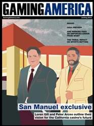 Gaming America Magazine Cover