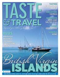 Taste & Travel International Magazine Cover