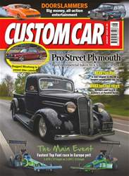 Custom Car Magazine Cover