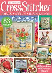 CrossStitcher Magazine Cover